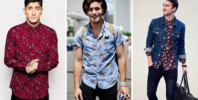 Now that's what I call floral shirts. Lovely.