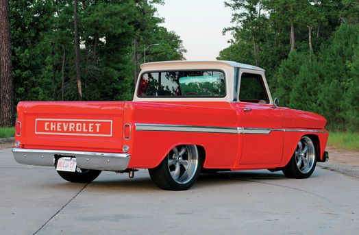 Ron Malinowski purchased his 1965 Chevy C10 after the fond memories of his first truck, a 1966 Chevy pickup he had sold years ago but never really forgot.