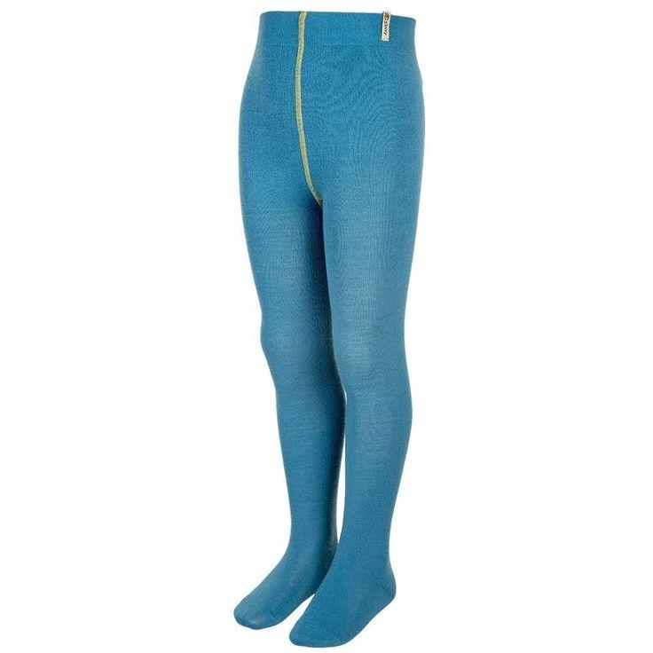 Janus DesignWool Merino Wool Tights: Ocean