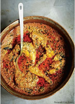 Recipe from Cinnamon Kitchen by Vivek Singh This is a very basic, rustic curry that could be made with any kind of fowl, I'm using guinea fowl, but you could easily replace this with chicken if you...