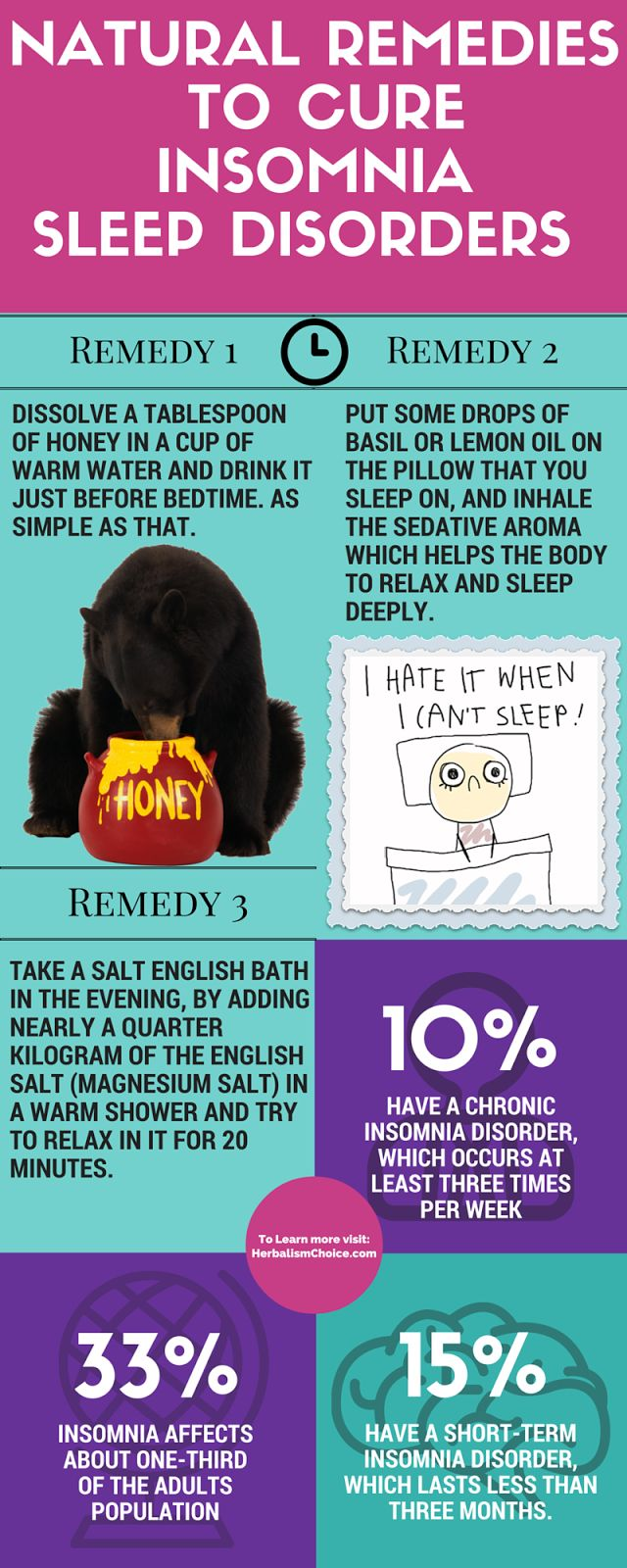 Natural remedies to cure insomnia and sleep disorders, For remedy details visit our page: http://www.herbalismchoice.com/2016/03/natural-remedies-to-cure-insomnia-sleep-disorders.html #insomnia #sleepdisorder @sleep #sleeptrouble