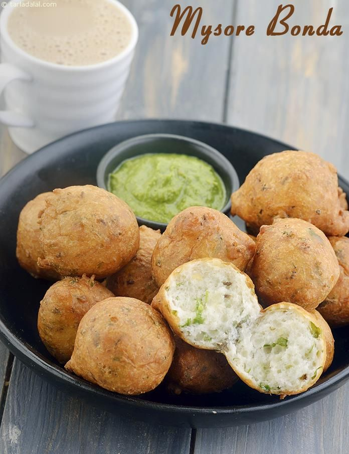 Mysore Bonda, South Indian Snack