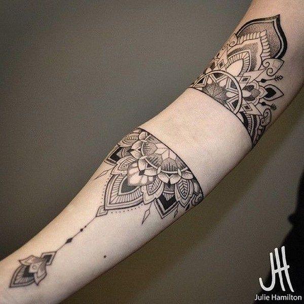 Mandala Sleeve Tattoo. www. http://forcreativejuice.com/cool-sleeve-tattoo-designs/