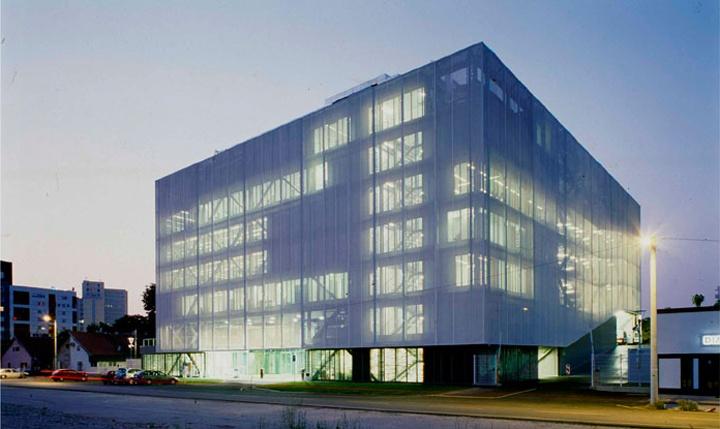 Translucent textile facade design pinterest croatia for Design office zagreb