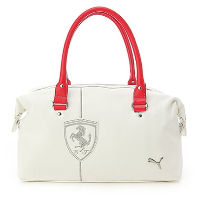 puma ferrari bag blue