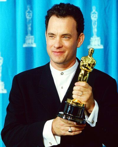 """Tom Hanks won Best Actor Oscar for his role as dying AIDS patient Andrew Beckett in """"Philadelphia"""" 1993"""