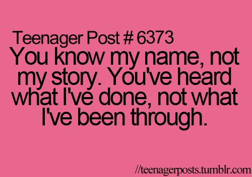 my favorite teenager post