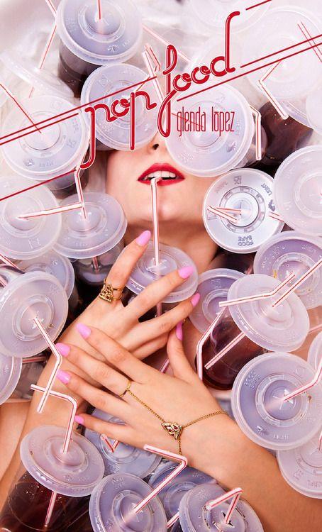 designscene:  POP FOOD from Glenda Lopez by Elena Jimenez