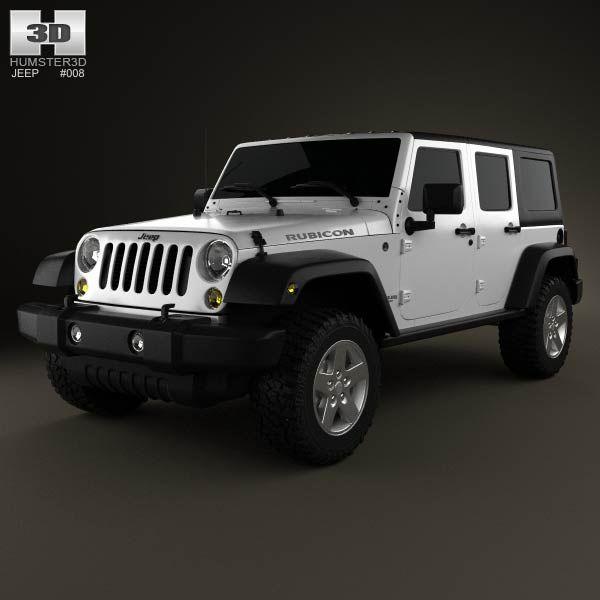 26 best images about jeep 3d models on pinterest models jeep wranglers and jeep cj. Black Bedroom Furniture Sets. Home Design Ideas