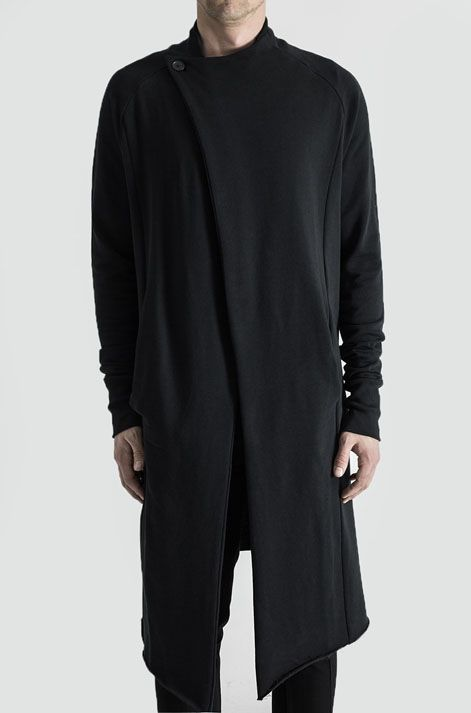 Visions of the Future: LL72 by Leon Louis | Long cardigan | Black