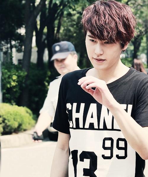 Kyuhyun is thinking about his next evil scheme