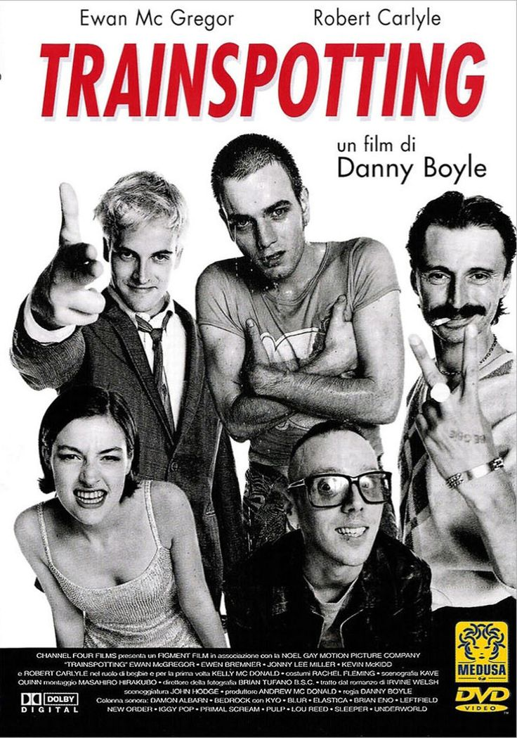Mark Renton, un joven escocés, y sus amigos son adictos a la heroína, lo que significa que viven fuera de la realidad, en un mundo aparte. Dentro del grupo hay un psicópata alcohólico y violento, un joven desesperado, un mujeriego con un conocimiento enciclopédico sobre Sean Connery y un entusiasta de las caminatas y de Iggy Pop.