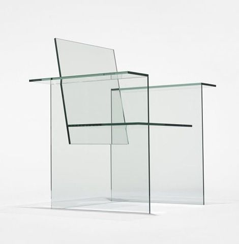 This glass chair could go very well in an industrial city, to match the business and rush. maybe in a Chinese or Japanese apartment near a busy city. this chair speaks volumes of sophistication and complications, so it would match a busy lifestyle
