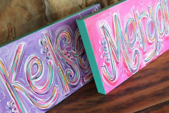 NAME canvas...ORIGINAL PAINTING Acrylic on canvas by DAKRIsinclair