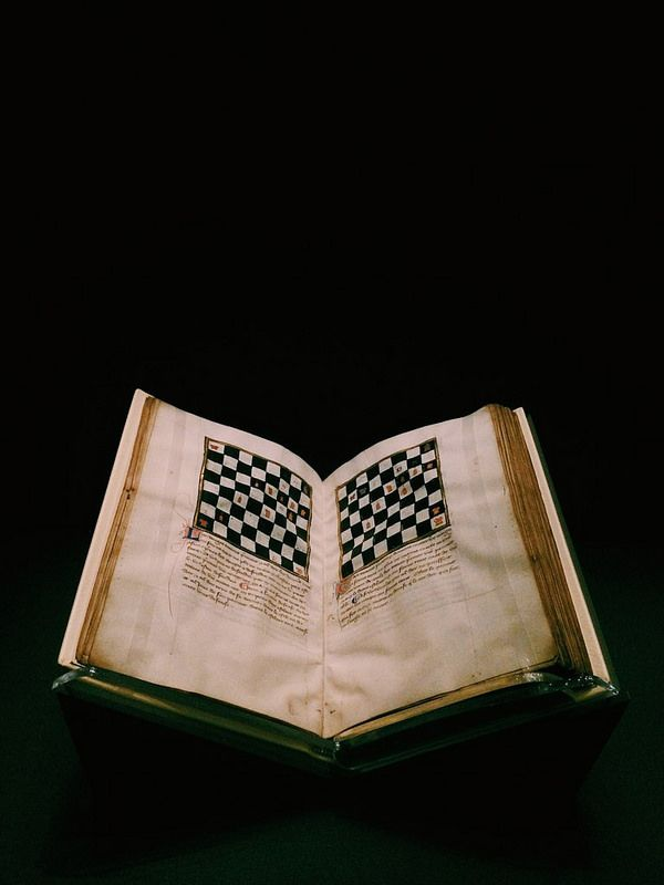 17th century chess book. Read it. Still loose. Dang.