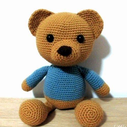 Tutorial Osito Amigurumi : 122 best images about Ositos a crochet. on Pinterest ...