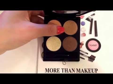 MustaeV Nude Quad Eye Shadow Palette - YouTube
