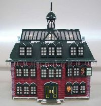 The most detailed Advent Calendar house ever made, this miniature version of the Christmas Vacation Advent house is just stunning.  Behind 24 lighted windows is a scene from the story of the birth of Christ.