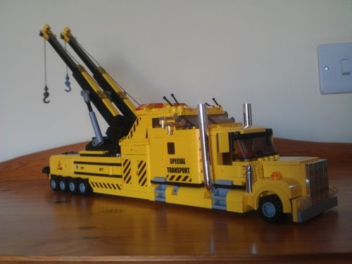City Wide Towing >> kenworth tow trucks and wreckers | Minifig scale Kenworth style wrecker tow truck: A LEGO ...