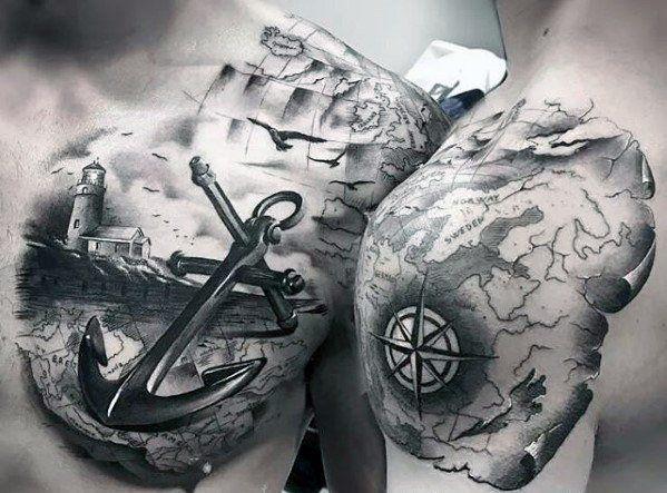 60 Unique Anchor Tattoos For Men