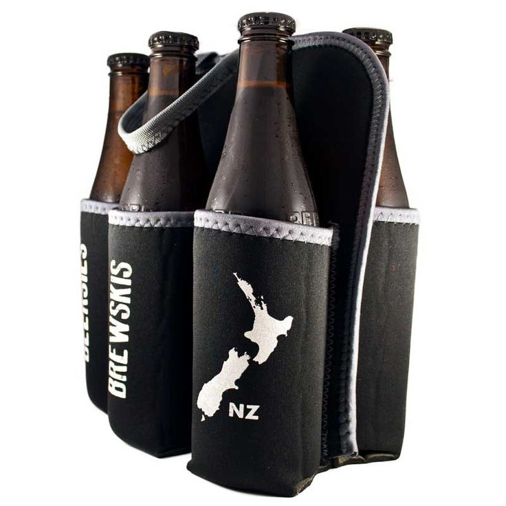New Zealand Six Pack Beer Cooler Tote