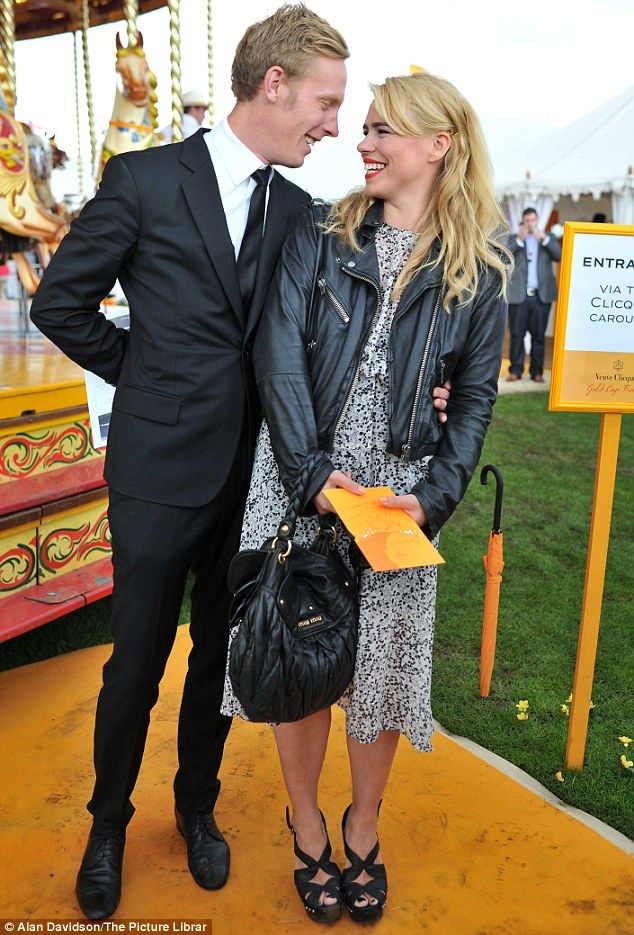 Married couple Laurence and Billie were both dressed smartly for the day out at the polo club