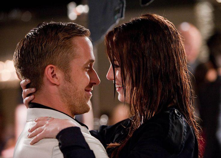 "Ryan Gosling y Emma Stone en ""Crazy Stupid Love"", 2011"