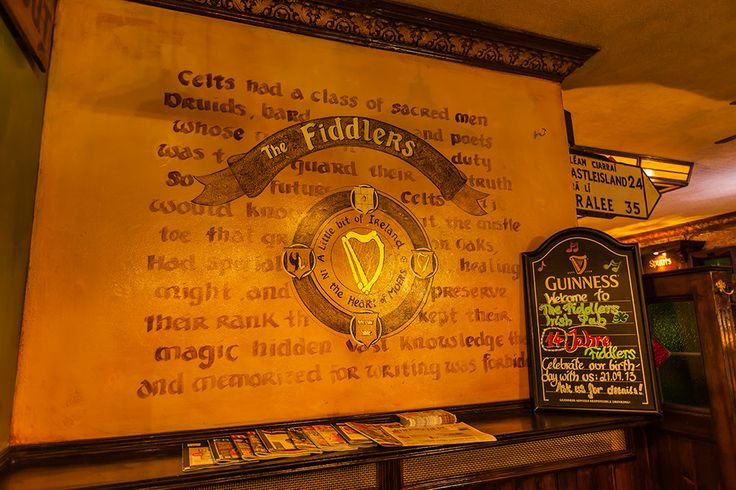 Der Fiddlers Irish Pub in Moers nach der Renovierung