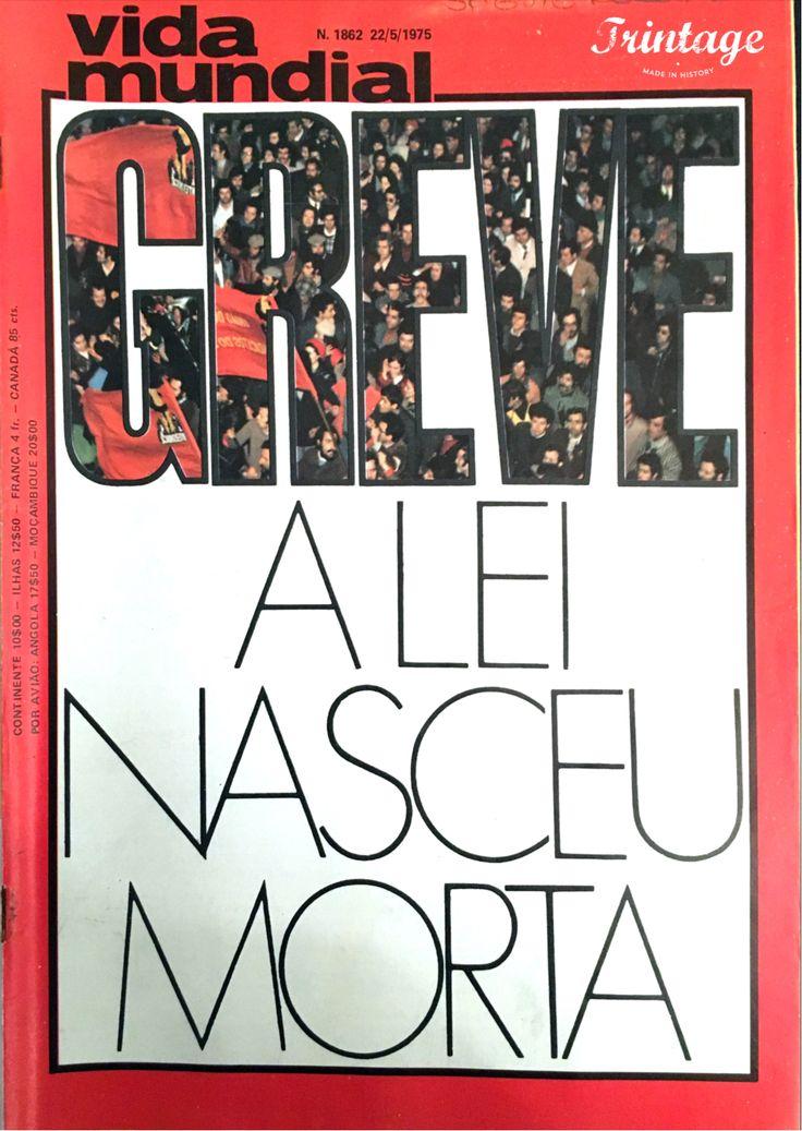 Capa da Revista Vida Mundial, 22/05/1975