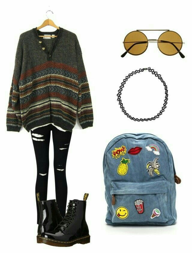 Aesthetic Style Hipster Outfits Clothes Fashion