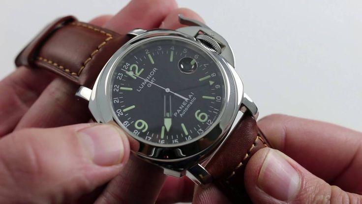 Panerai Luminor GMT PAM 063 Luxury Watch Review - YouTube