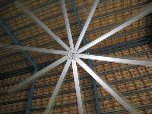 Big Ass Fan at the Punta Cana Airport by leges314, via Flickr