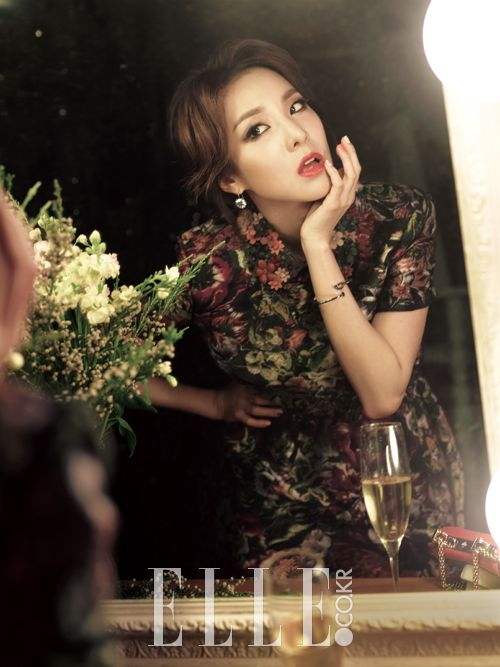 2014.12, ELLE, 2NE1, Dara