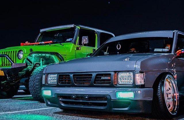 #Nissan_D21 #MiniTruck #Modified #Slammed #Stance