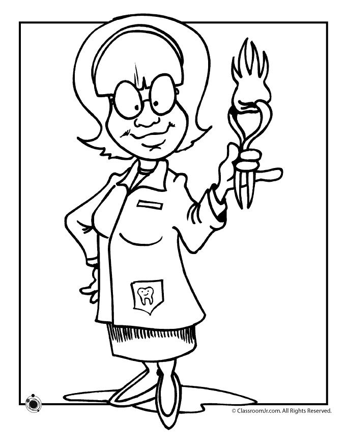teeth coloring pages dentist coloring pages 231x300 dentist coloring pages