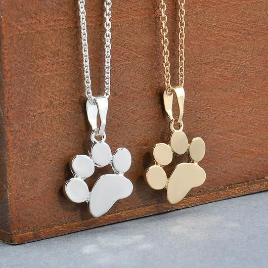 Dog Paw Necklace - Square Berry Co