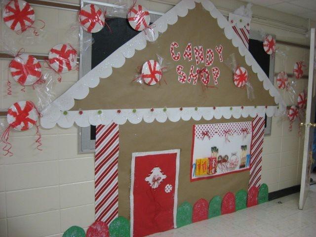 Gingerbread Town Christmassssss Christmas Bulletin