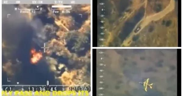 The Nigerian army has released a footage showing a recent raid of the troops on Boko Haram's last enclave in the vast Sambisa forest that was the Islamist group's stronghold for years.  Boko Haram terrorists fleeing from Camp Zero   The aftermath of the airstrike  The video shows Boko Haram te...