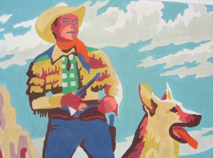 jeux d'enfants: paint by numbers:cowboy