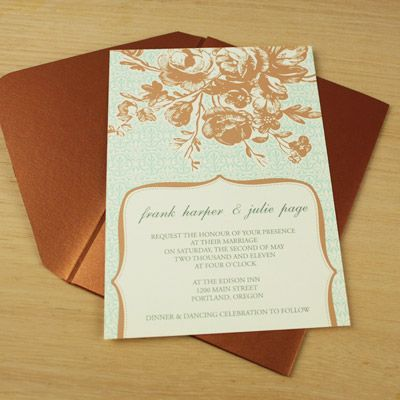 16 best Vintage Type Wedding Invitations images on Pinterest - vintage invitation template