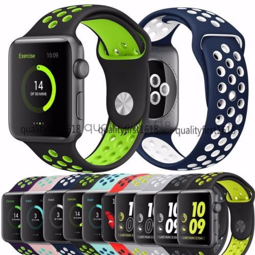 Silicon-Sports-Bracelet-Strap-Watch-Band-Replacement-for-Apple-Watch-Series-2-1