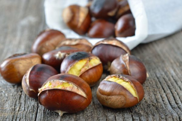 Temporada de #castañas, cómo asar castañas en casa en 3 minutos