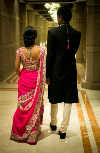 A Calcutta Wedding with a long distance love story: Ishana and Abhijay