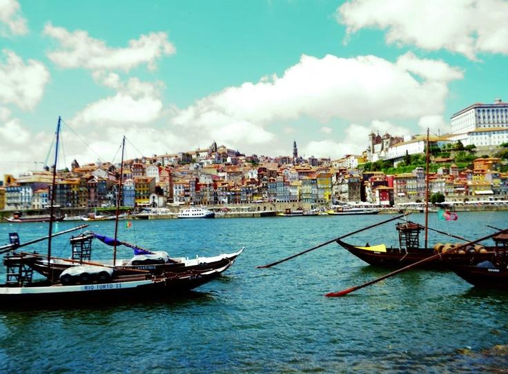 Porto view from Vila Nova de Gaia