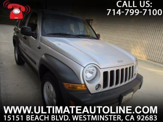 Sport Utility, 2007 Jeep Liberty 4WD Sport with 4 Door in Westminster, CA (92683)