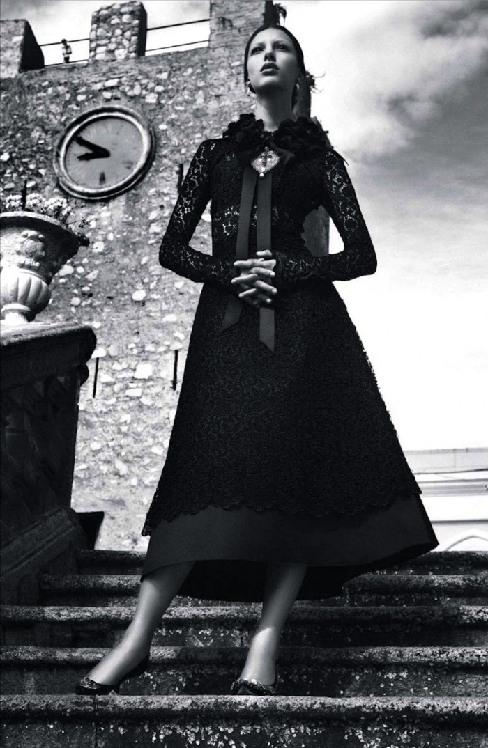 'Once Upon A Time In Sicily' | by Giampaolo Sgura For Vogue Japan | October 2012