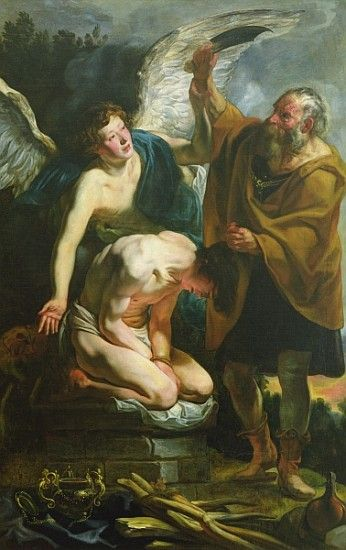 Le sacrifice d'Isaac, Jordaens