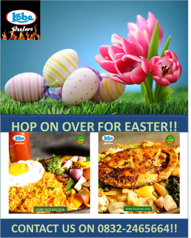 HOP ON OVER FOR EASTER!! Contact us on 0832-2465664!!