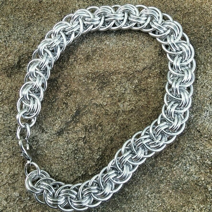 I'm teaching my first workshop tomorrow. My students will be making Viper Basket #Chainmaille #jewelry #jewellery #handmade #handcrafted #bracelet #Blackstarr