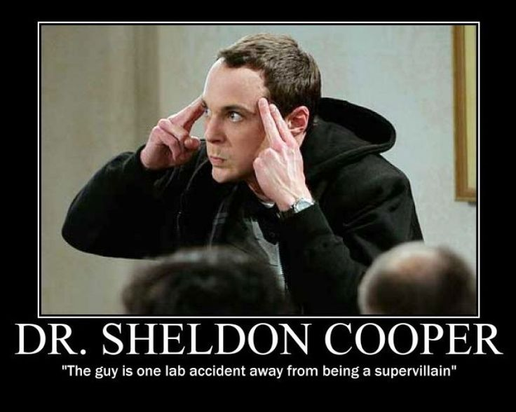 Big Bang Theory. Sheldon